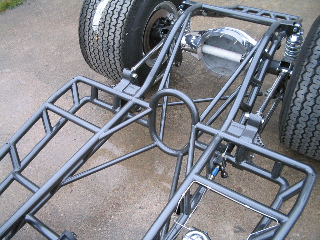Tubbed Willys Chassis
